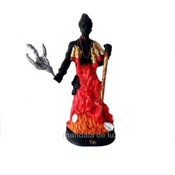 Estátua de Exu Resina 15cm