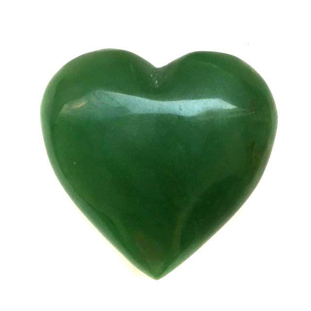 Coração de Cristal de Quartzo Verde 245g