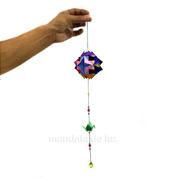Origami Mobile Kusudama e Tsuru