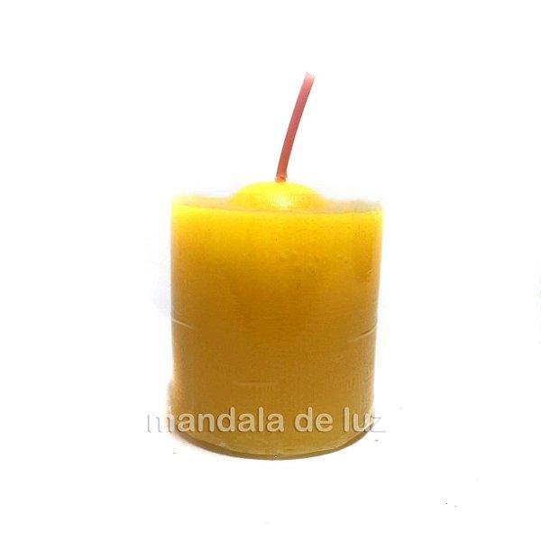 Velas Perfumadas Chama de Ouro Repelente Citronela