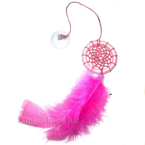 Filtro dos Sonhos Rosa Pink Carro Ventosa