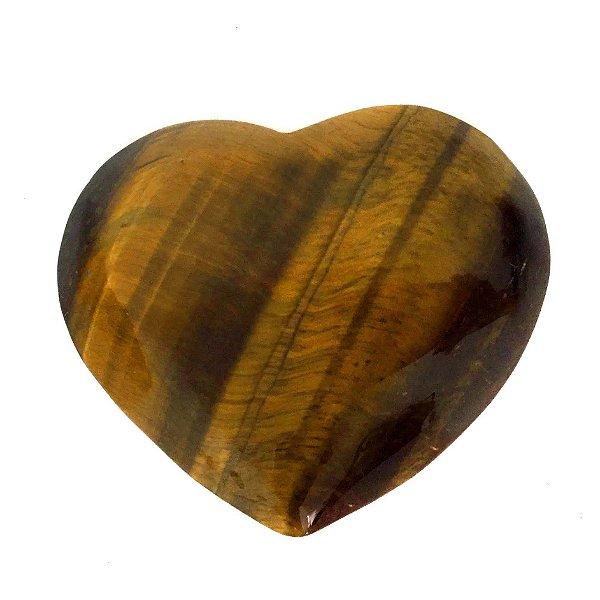 Coração de Cristal de Olho de Tigre - 304