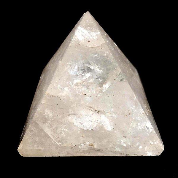 Pirâmide de Pedra Quartzo Transparente