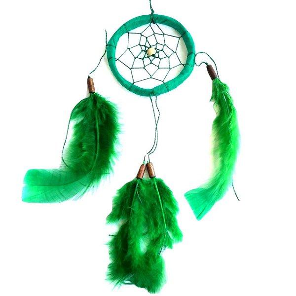 Filtro dos Sonhos 1 Aro Verde 25cm