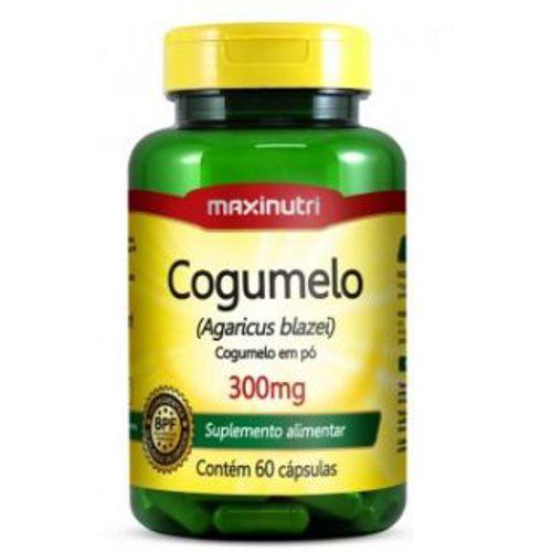 Cogumelo Agaricus Blazei 300mg - 60caps - Maxinutri