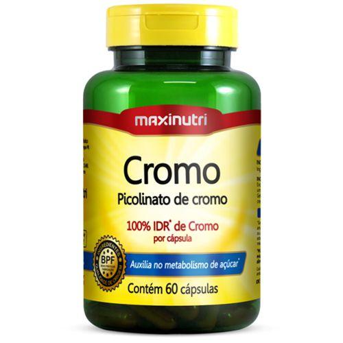 Cromo Quelato 60caps - Maxinutri