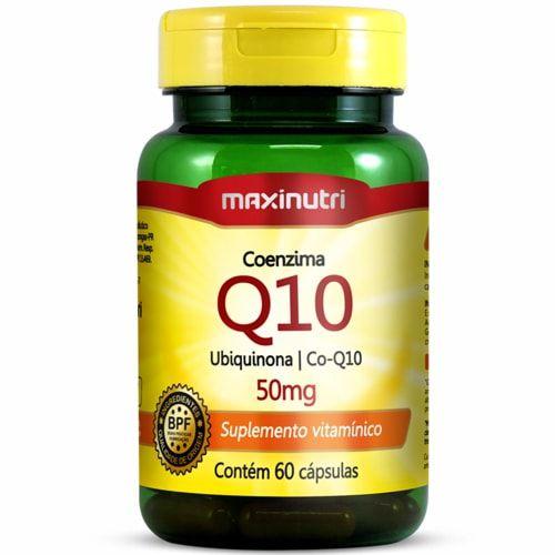 Coenzima Q-10 50mg 60 Cápsulas - Maxinutri