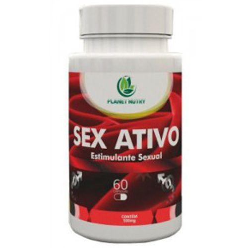 Estimulante Sexual Natural Sex Ativo 60 Cápsulas - Verde Nattus