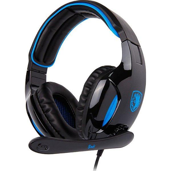 Fone Headset Gamer 7.1 Usb Sades Sa-902 Snuk