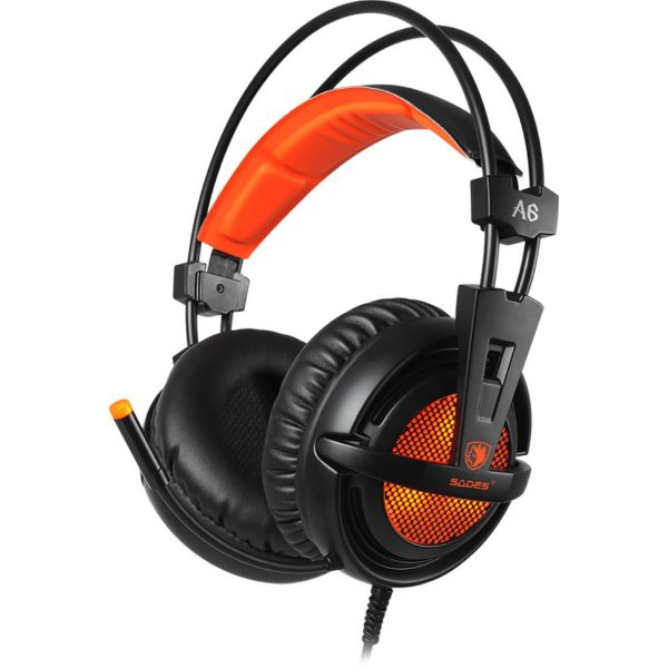 Headset Sades A6  7.1 USB