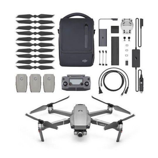 DRONE DJI MAVIC 2 ZOOM ANATEL (BR) FLY MORE COMBO