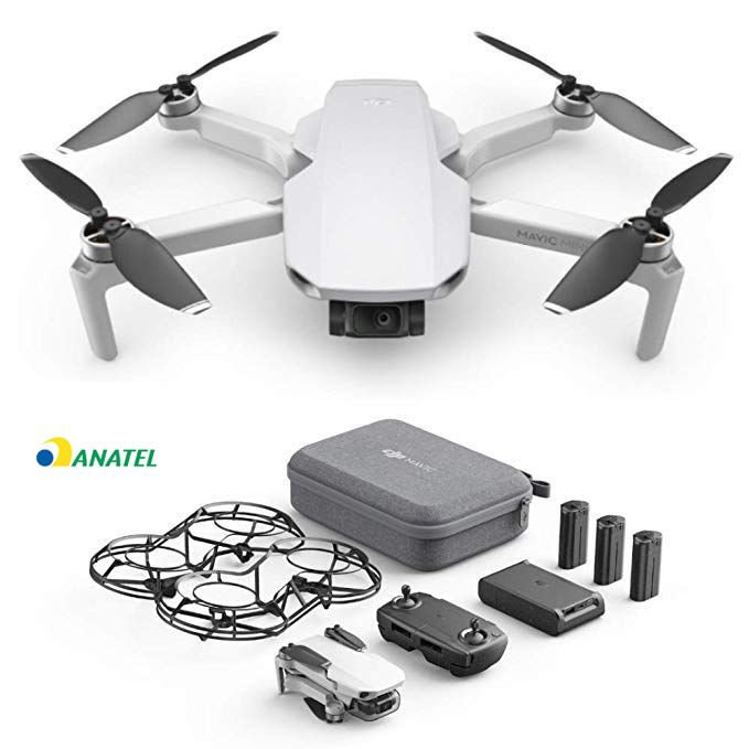 Drone DJI Mavic Mini Fly More Combo 3 Baterias ANATEL FCC