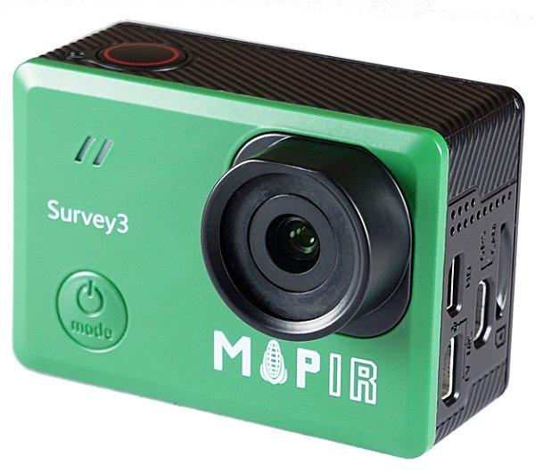 Câmera MAPIR 3W RED+GREEN+NIR RGN NDVI S3W_RGN_NDVI Agricultura