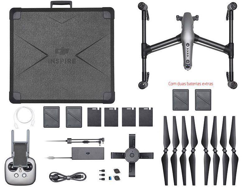 Drone Dji  INSPIRE 2 COMBO COM 02 BATERIAS EXTRAS