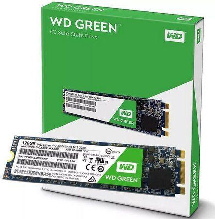 SSD WD 120gb Green M.2 2280 Sata3 Wds120g2g0b