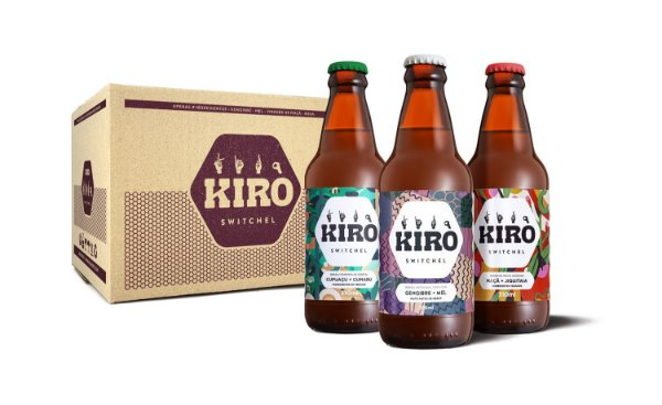 Kiro 3 Sabores - 12 unidades