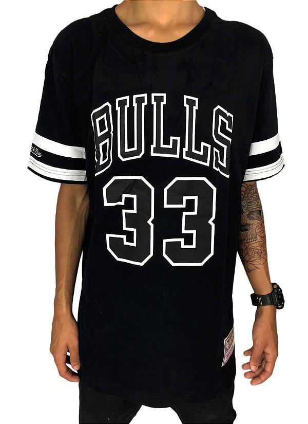 Camiseta Chicago Bulls Mitchell & Ness Pippen 33 (M370A)