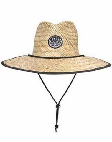 Chapéu De Palha Rip Curl Wetty Straw Hat Black - CHADK119