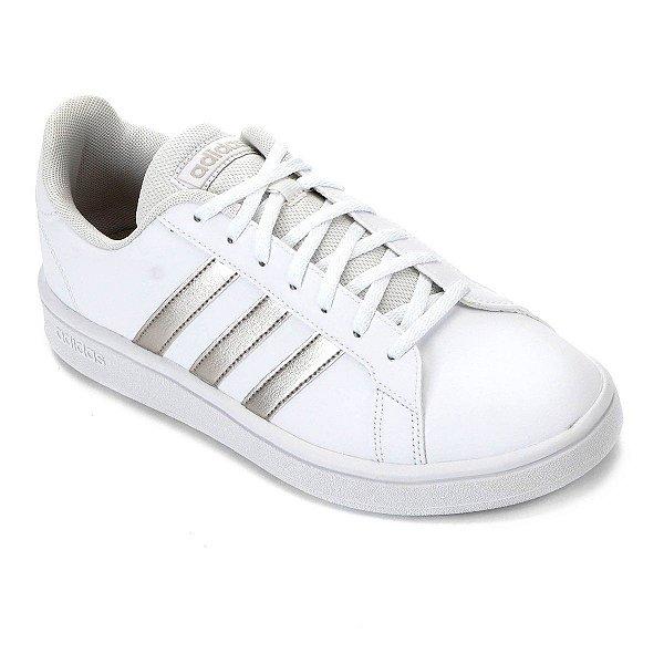 Tênis Adidas Grand Court Base Feminino - Branco