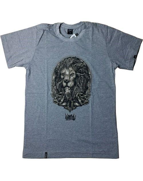 Camiseta Estampada Leão Chronic