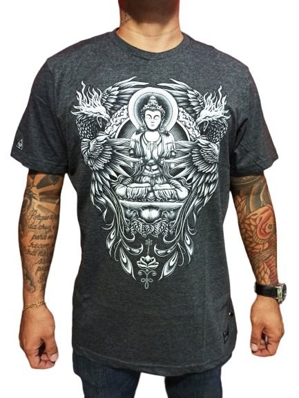 Camiseta Okdok Buda/ Águia