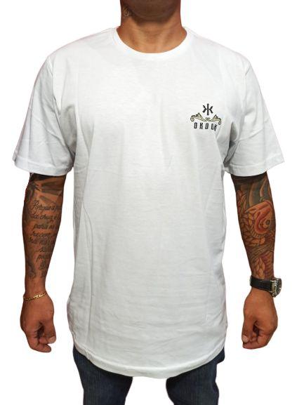 Camiseta Okdok Logo Dourado