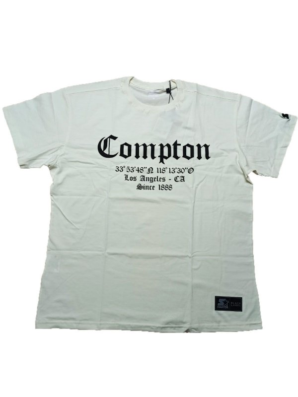 Camiseta  Starter Compton Los Angeles  Large - S669A