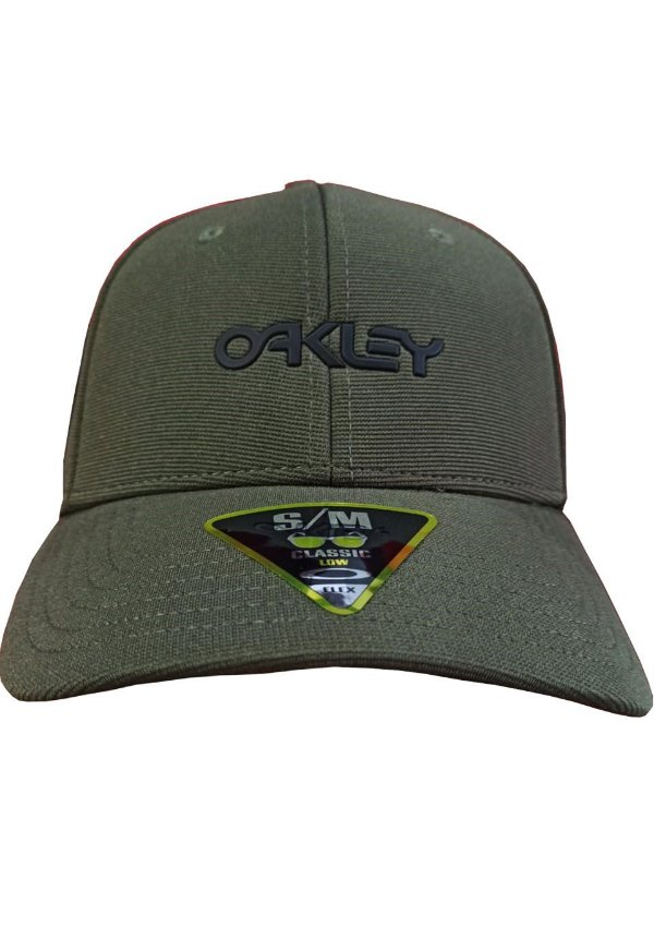 Boné Oakley 6 Panel Stretch Metallic Hat Verde - 912209-86L