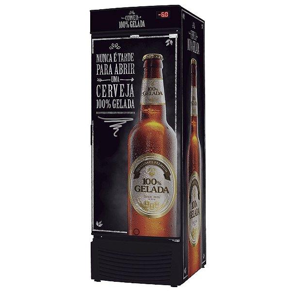 Cervejeira com Porta Cega Frost Free de 431L Fricon VCFC 431 C