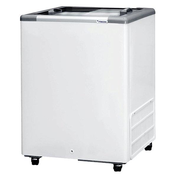 Freezer Horizontal de 142L com 2 Tampas de Vidro Fricon HCEB 142 V