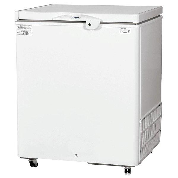 Freezer Horizontal de 216L com 1 Tampa Cega Fricon HCED 216 C