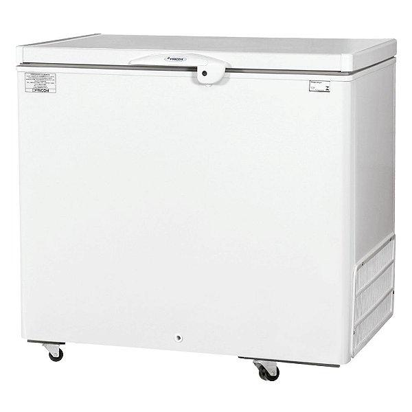 Freezer Horizontal de 311L com 1 Tampa Cega Fricon HCED 311 C
