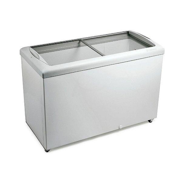 Freezer Horizontal de 336L com 2 Tampas de Vidro Metalfrio HF40S