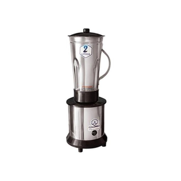Liquidificador de Alta Rotação 2L Copo Inox Colombo AR2L