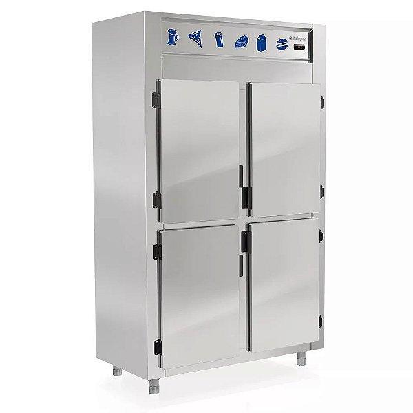 Refrigerador Comercial Inox 4 Portas Gelopar GREP-4P