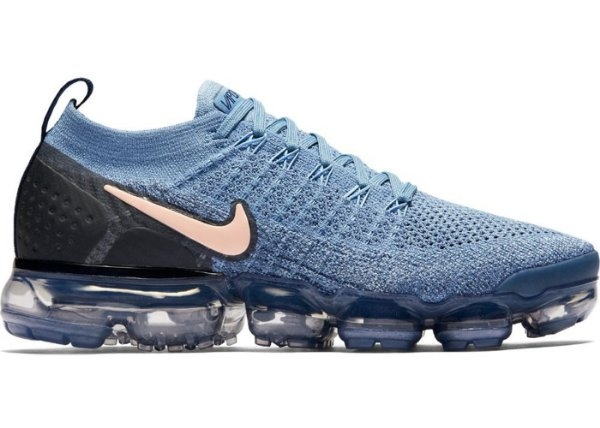 Tênis Nike Vapormax 2.0 Azul Claro e Preto  (Masculino)
