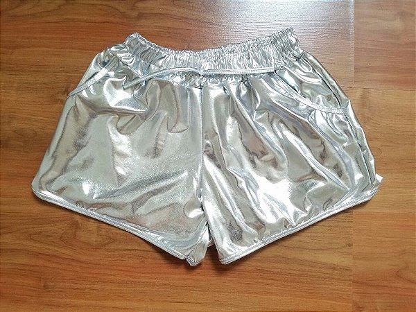 Shorts Cirrê Prata