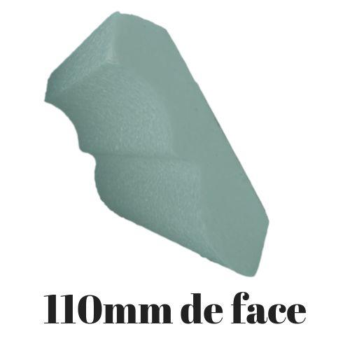 Moldura Roda Teto  Modelo 0812 - 110mm de face ( valor por metro)