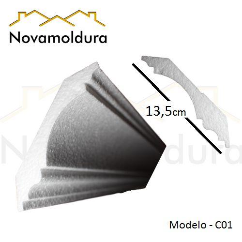 Roda teto modelo C01 ( valor por metro)