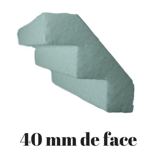 Molduras Isopor M02B - 40mm de face ( valor por metro)