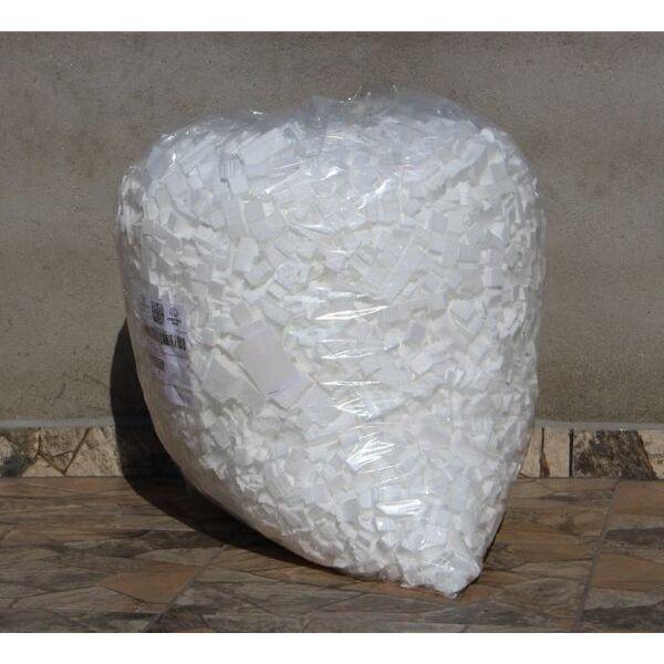Isopor triturado em cubos. Pacote com 200 litros ( somente retirada )