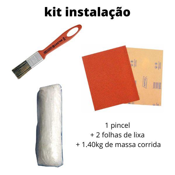 Kit instalação para isopor EPS ( rustico )