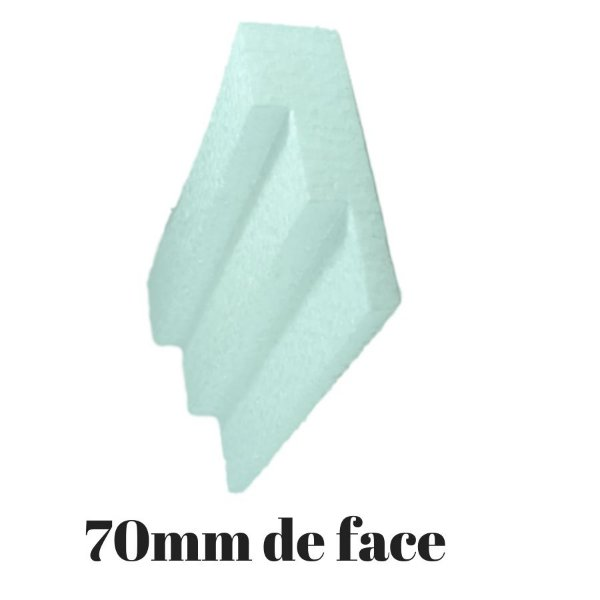Molduras Isopor M03 - 70mm de face ( valor por metro)
