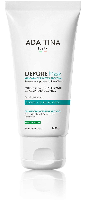 Ada Tina Depore Mask - Máscara de Limpeza Secativa 100ml