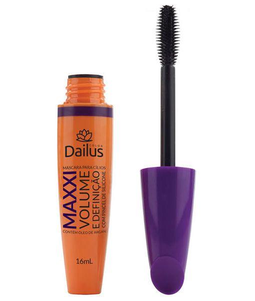 Dailus Color Máscara para Cílios Maxxi Volume e Definição 16ml