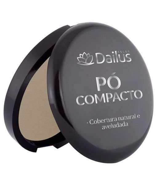 Dailus Color Pó Compacto 04 (Bege)
