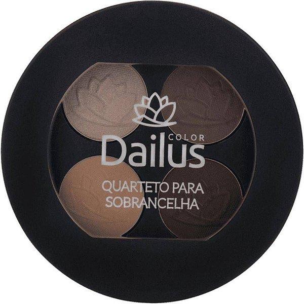Dailus Color Quarteto para Sobrancelha