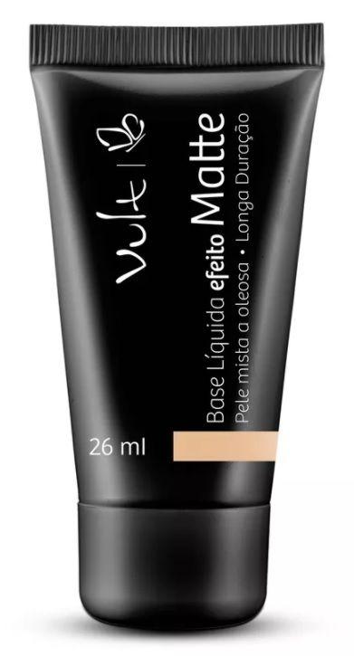 Vult Base Efeito Matte Bege 01 - 26ml