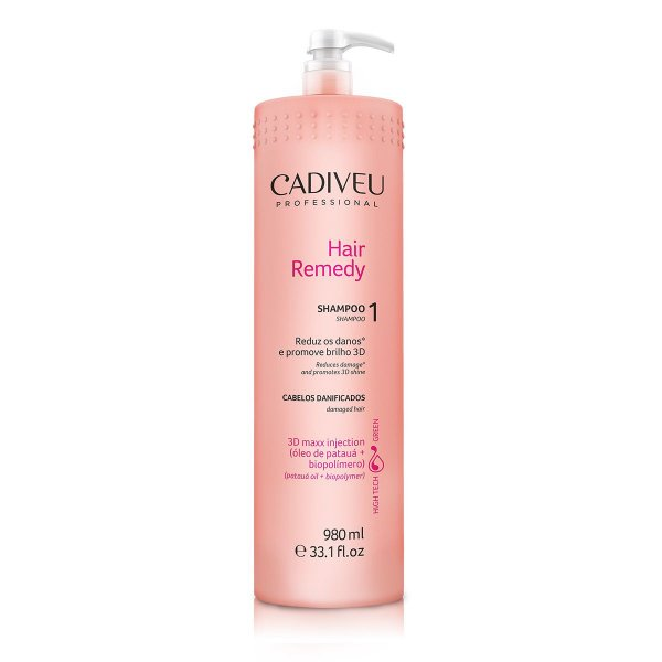 Cadiveu Hair Remedy - Shampoo 980ml
