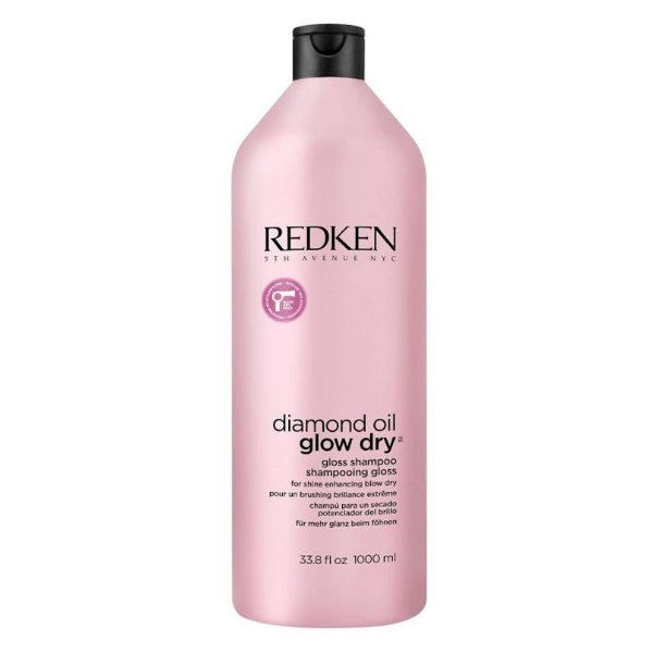Redken Diamond Oil Glow Dry - Shampoo 1000ml